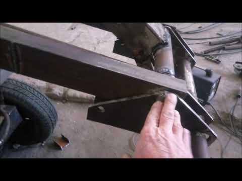 мини погрузчик на переломку АТ-1 своими руками
