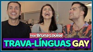TRAVA-LÍNGUAS GAY (feat @abrunalouise) - Jogação - Põe Na Roda | Põe Na Roda