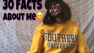 30 Facts About Me (Get To Know Me Tag)  Chrissy