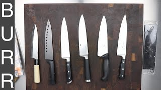 Tested 5 Sub $20 Kitchen Chefs Knives - 3 of them SUCK