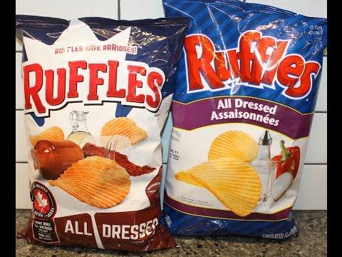 Ruffles All Dressed USA vs. Canada –...