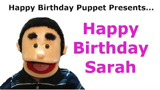 Funny Happy Birthday Sarah - Birthday Song