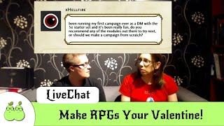 Ask a Double DM - Make RPGs Your Valentine!