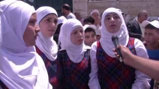 اعتصام طالبات مدرسة الراهبات الوردية للمطالبة بحقوقهن