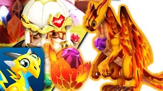How to breed Secret Fire Dragon 100% Real! Dragon City Mobile! [Ancient Dragons]