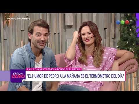Paula Chaves y Pedro Alfonso en el diván - Cortá por Lozano 2018