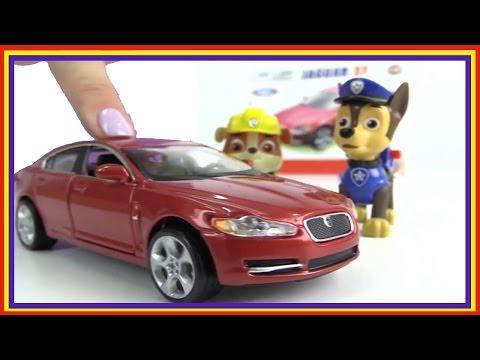 Paw Patrol Games - Build a JAGUAR! Car Construction (Bburago Nickelodeon Toys)
