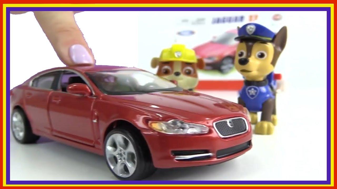 Paw Patrol Games - Build a JAGUAR! Car Construction (Bburago ...