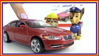 Paw Patrol Games - Build a JAGUAR! Car Construction (Bburago Nickelodeon Toys)