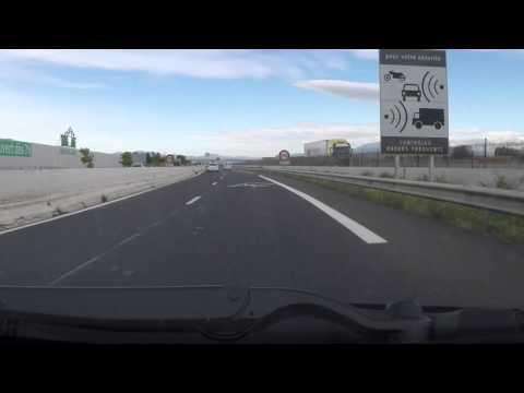 France by Car - A9 J41 to Perpignan City Centre