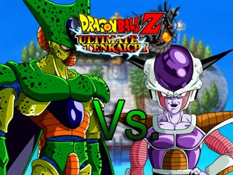 Dragon Ball Z: Ultimate Tenkaichi 1st Form Cell Vs. 1st Form ...