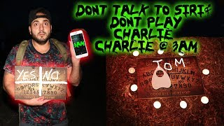 DONT CALL SIRI & PLAY CHARLIE CHARLIE CHALLENGE WITH A FIDGET SPINNER AT 3AM! | MOE SARGI