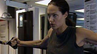 Angelina Jolie Training for 'Lara Croft Tomb Raider II' Behind The Scenes