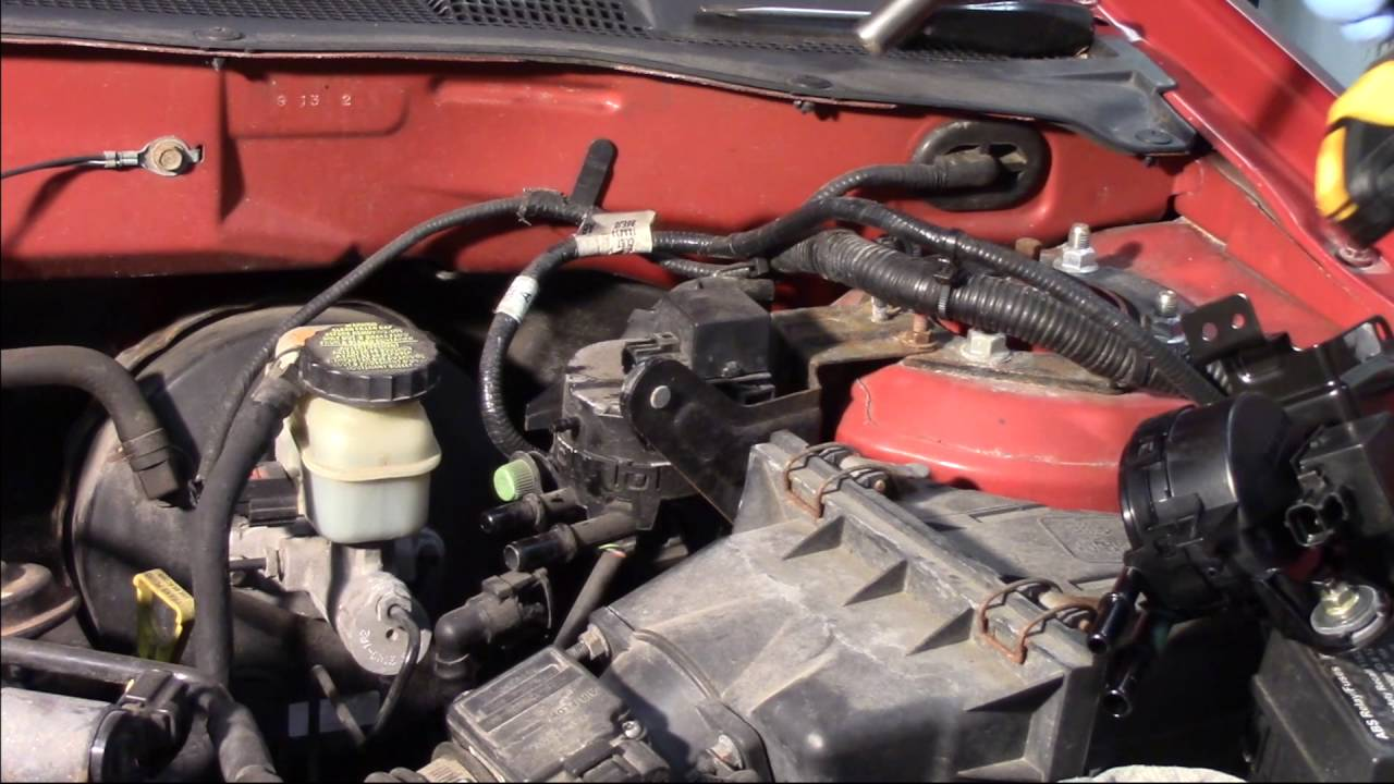 2002 ford escape engine diagram 96 civic stereo wiring canister purge solenoid replacement - 3.0l youtube