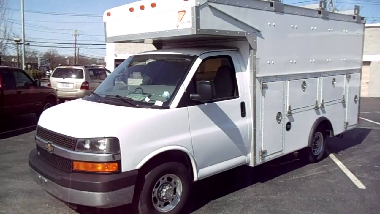 2006 chevy express work utility truck 14ft utilimaster body loaded youtube. Black Bedroom Furniture Sets. Home Design Ideas
