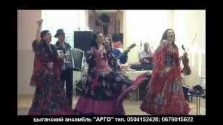 Поздравление цыганского ансамбля «Арго» на свадьбе