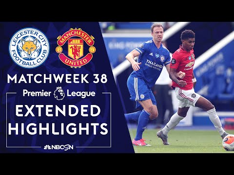 Leicester City v. Manchester United | PREMIER LEAGUE HIGHLIGHTS | 07/26/2020 | NBC Sports
