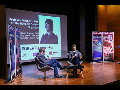 In Conversation with Professor Brian Cox at National Gallery on 1st Aug 2016