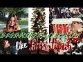 DECORATING FOR CHRISTMAS | Weekend Vlog