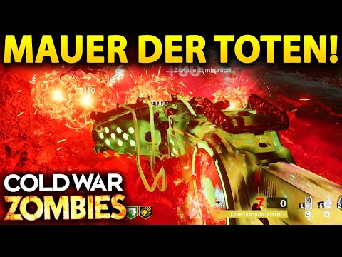 🔴 NEW ZOMBIES MAUER DER TOTEN GAMEPLAY & SIDE EASTER EGG HUNT!!
