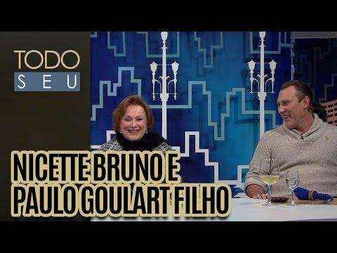 Nicette Bruno e Paulo Goulart Filho - Todo Seu (23/08/16)