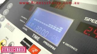 Semi Commercial 1 - 22km/h Programmable Treadmill - Fitness Choice Hire