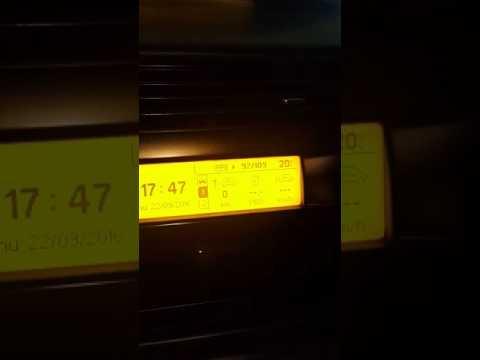 Citroen c4 yol bilgisayarı kullanımı ve ayarlari