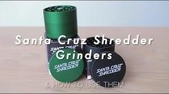 Santa Cruz Shredder Aluminium Herb Grinder | Best American Made Grinder Review by Purr