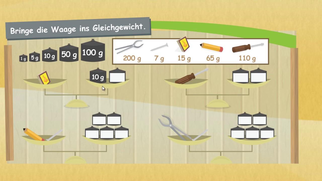 l ngen und masse messen und wiegen mathematik klasse 2 youtube. Black Bedroom Furniture Sets. Home Design Ideas