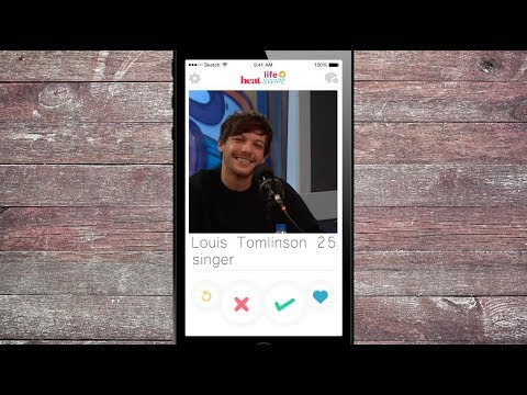 #LifeSwipe With Louis Tomlinson | Louis Swipes Right On Lads Holiday With 1D