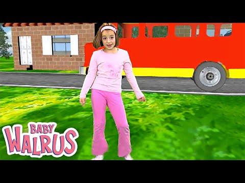 Zouzounia feat.Anna Rose & Amanda - The Wheels On The Bus (KARAOKE)