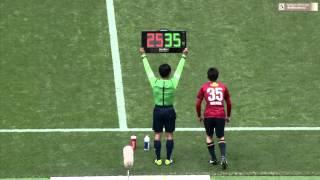 J-League Division1 #5 Yokohama-F-Marinos vs Kashima Antlers 2014/03...