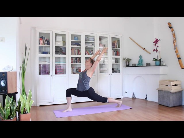 Qi-Flow Salutation B voor Do-Yang Yoga | Do-In School