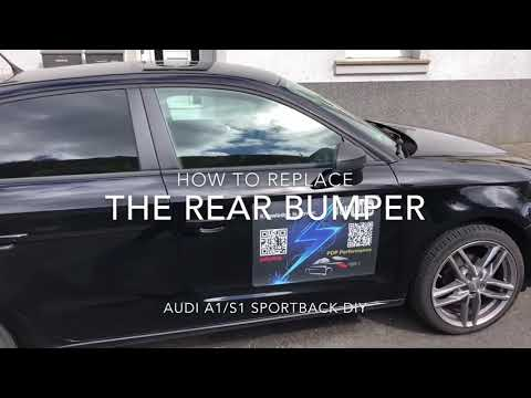 How To Replace Your Rear Bumper Audi A1 Sportback Assemble And