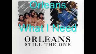 Watch Orleans What I Need video