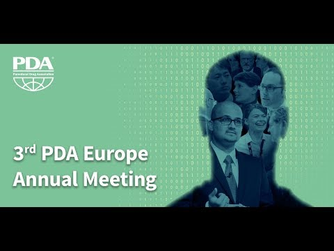 2018 PDA Europe 3rd Annual Meeting
