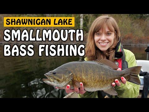 double-big-smallmouth-bass!-bass-fishing-at-shawnigan-lake-on-vancouver-island-bc-|-fishing-with-rod