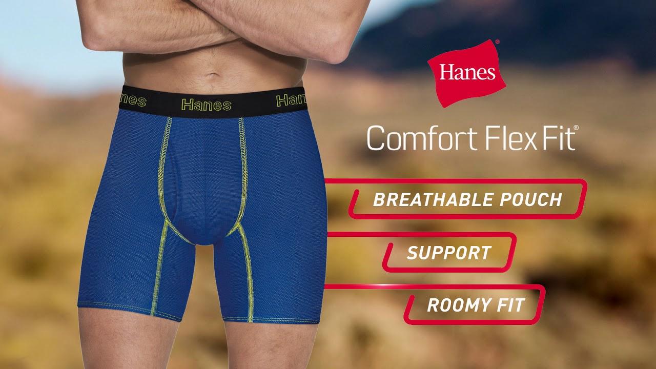 79862a91404b Kangaroo-M to Roam: Hanes' New Comfort Flex Fit ... - YouTube