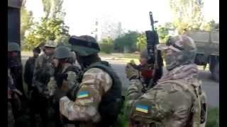 Съемки боевых действий нацгвардии Украины. Батальон