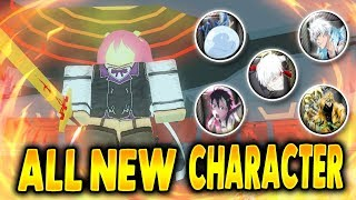 ALL 6 NEW CHARACTERS | [ Stella, Rimuru, Toshiro, Kaneki, Kirito, DIO ] | Anime Cross 2 in Roblox