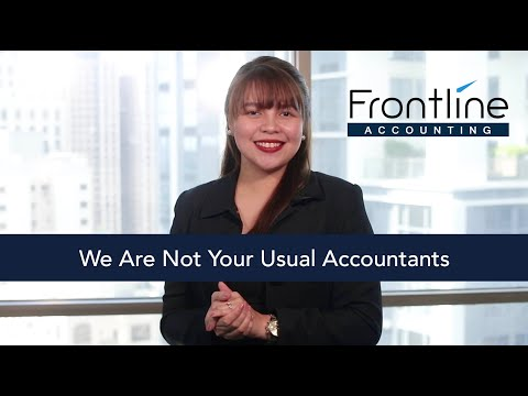 Frontline Accounting: We Are Not Your Usual Accountants
