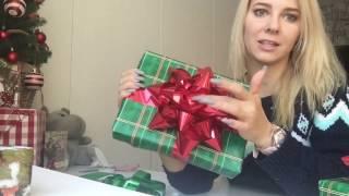 Упаковываем подарок - Большой бант 🎁