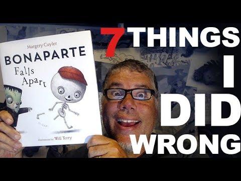 7 Ways I Messed Up My Children's Books