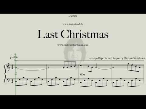 Last Christmas  - For Piano Beginner