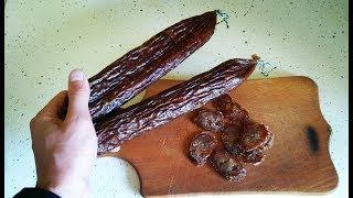 Сыровяленая Колбаса из Куриной Грудки. Вкуснее чем Бастурма и Балык. Простой Рецепт Колбасы