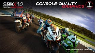 SBK 2014 OFICIAL MOBILE GAME ANDROID GAMEPLAY