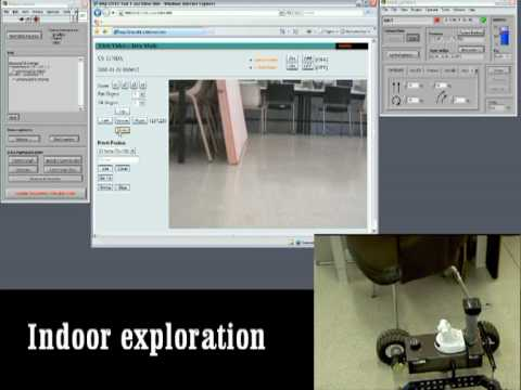 Camera vision in rescue Robots from ARLab of University of Girona