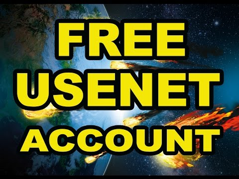 Free Usenet Account without Registration◄ 100 % Free!