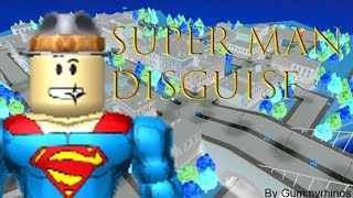 Roblox: Super Man Disguise *KILLING VILLAINS ONLY* - Super Power Training Simulator