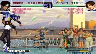 The King of Fighters 2002 Arcade casual Gameplay